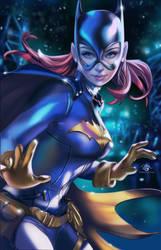 Batgirl by DelarasArt