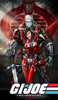 Destro and Baroness gi joe by jamietyndall