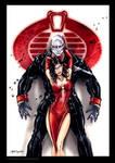 GI JOE Destro Baroness  formal