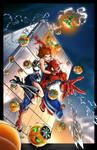 Spiderman saves Mary Jane