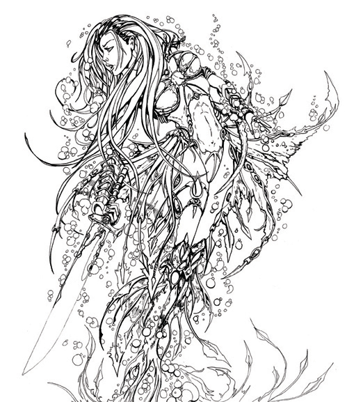 Fathom Doodle by jamietyndall