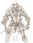 GIJOE Destro Baroness pencil