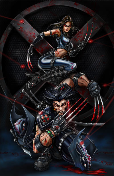 X-Force Wolverine X23 by jamietyndall