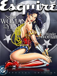 Wonder Woman Esquire by jamietyndall