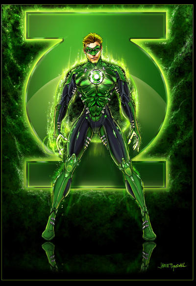 Green Lantern Reloaded by jamietyndall