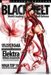 Elektra Ninja Assassin by jamietyndall