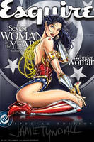 iphone 4 - Wonder Woman Esqs by jamietyndall