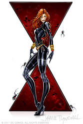 iphone - Black Widow by jamietyndall