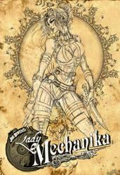 Lady Mechanika Sketch by jamietyndall