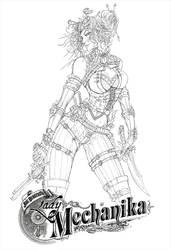 Lady Mechanika final pencils by jamietyndall
