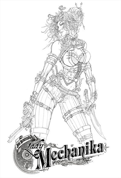 Lady Mechanika final pencils by jamietyndall