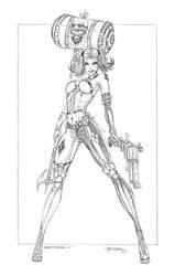 Harley Quinn V1 by jamietyndall