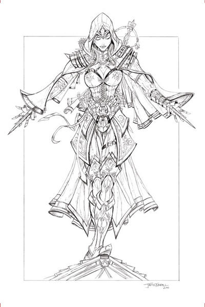 La Guilde des héros Assassin__s_creed_pencils_by_jamietyndall-d4fska4