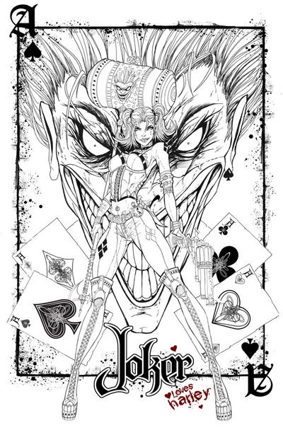 Harley Loves the Joker by jamietyndall