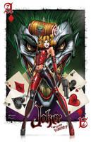 Harley Quinn Luvs the Joker by jamietyndall