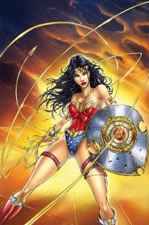 Wonder Woman by jamietyndall