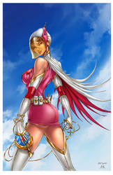 Battle of the Planets Princess Swan
