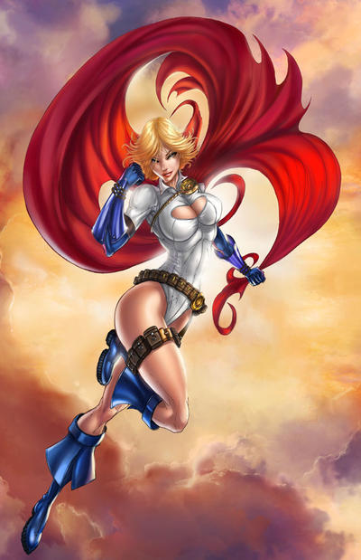 Power Girl by jamietyndall