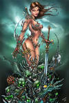 Witchblade and the Darklings