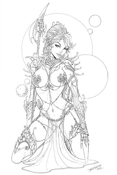 Dejah Thoris The Princess Of Mars By Jamietyndall On