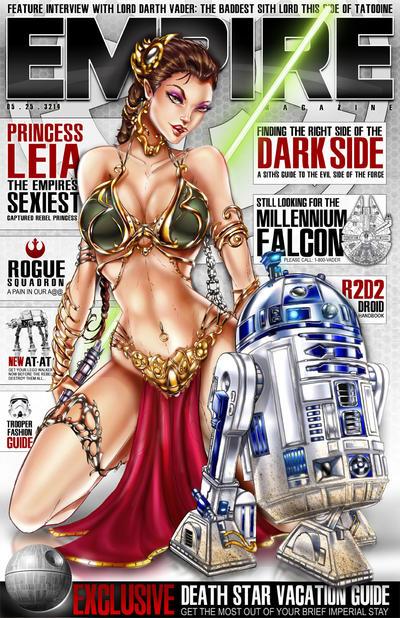 Princess Leia Star Wars by jamietyndall