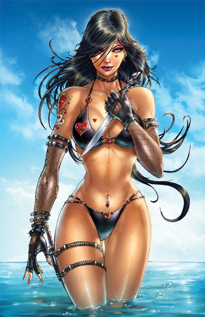 Zenescope's Call of Wonderland #4 Cover Exclusive by jamietyndall