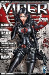 GI JOE's Baroness on Viper Magazine by jamietyndall