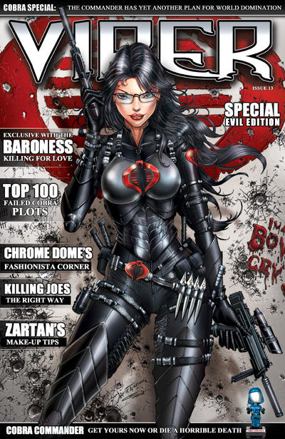 GI JOE's Baroness on Viper Magazine