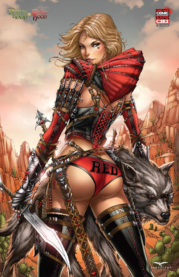 Zenescope C2E2 2013 Exclusive by jamietyndall