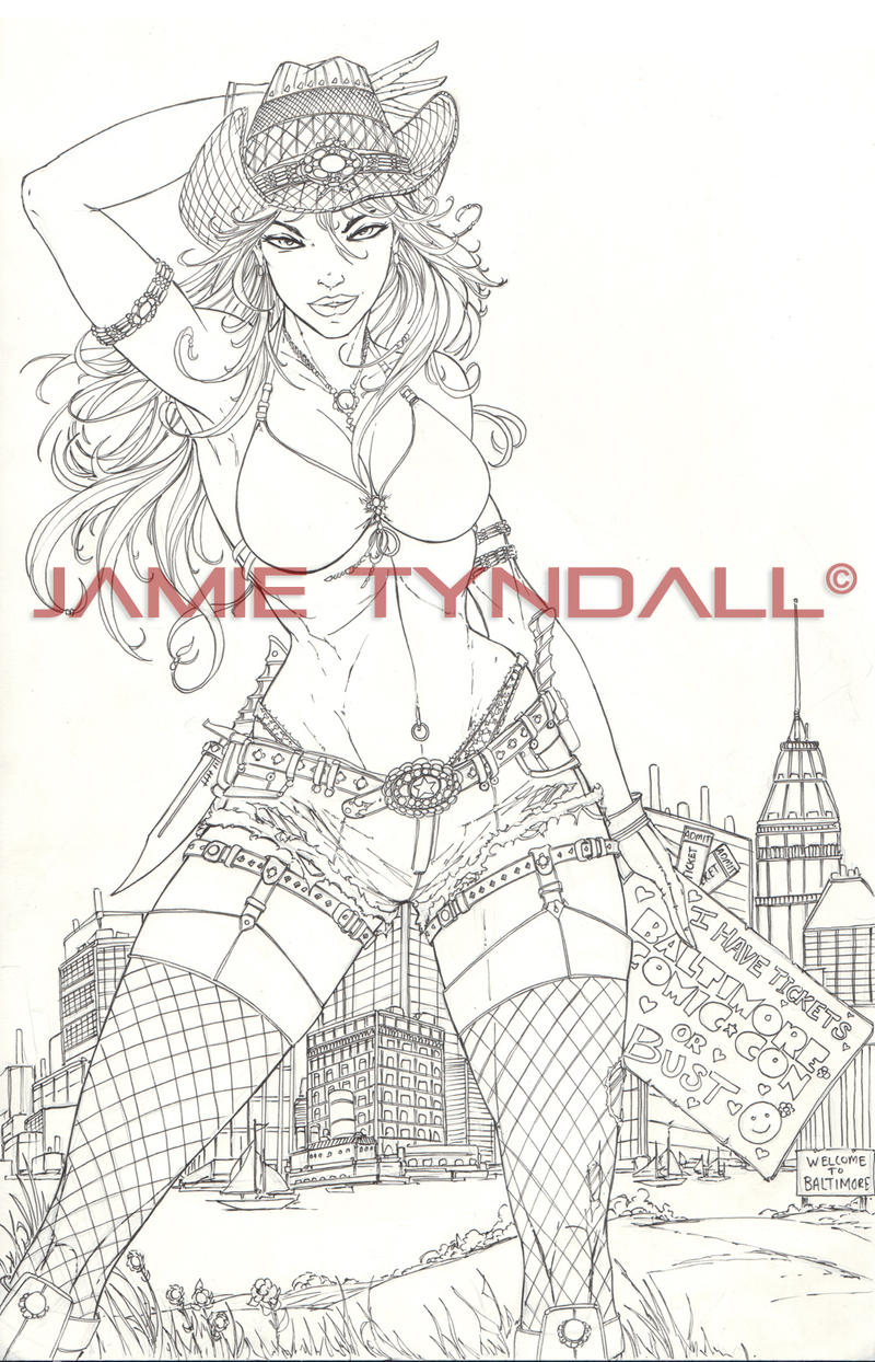 FOR SALE: Zenescope Baltimore 2012 exclusive by jamietyndall