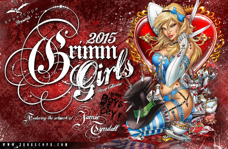 NOW AVAILABLE: Grimm Girls 2015 Calendar by jamietyndall