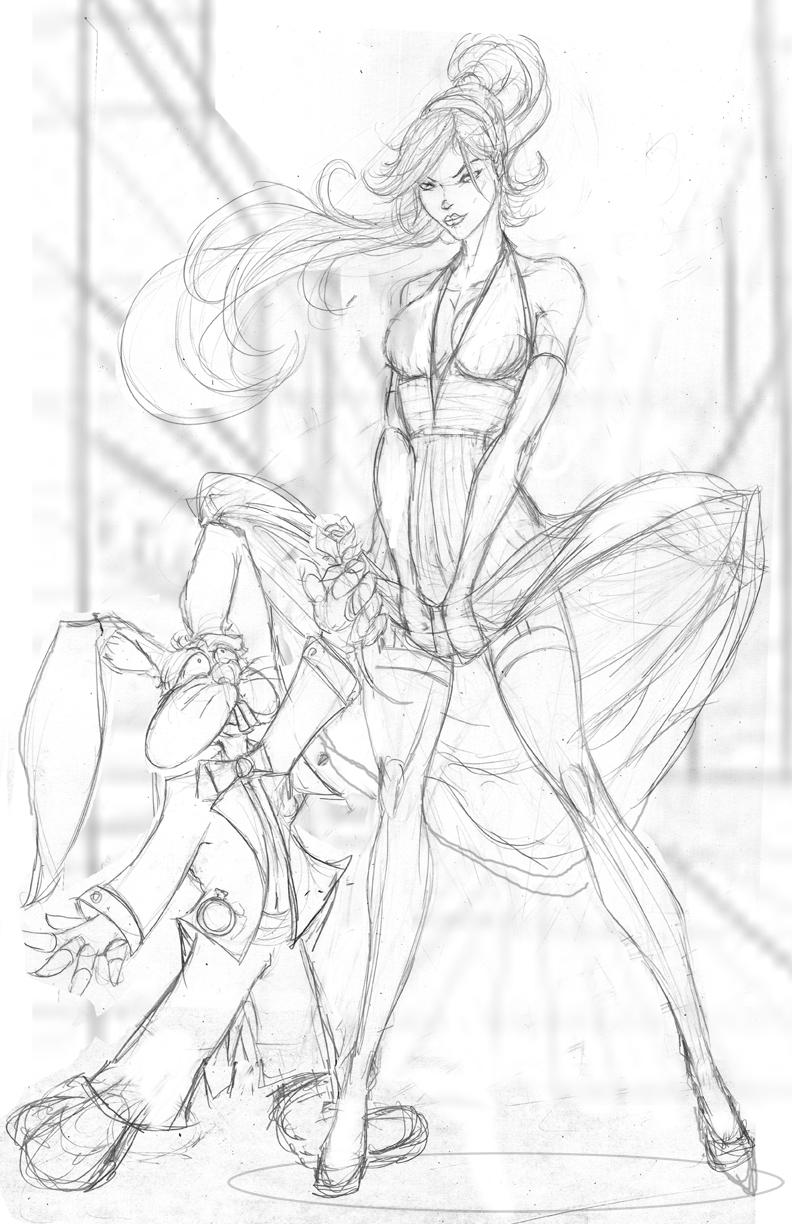 Exclusive Zenescope Cover Pencils by jamietyndall