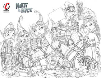 PRE-ORDER: Notti and Nyce Christmas cover by jamietyndall