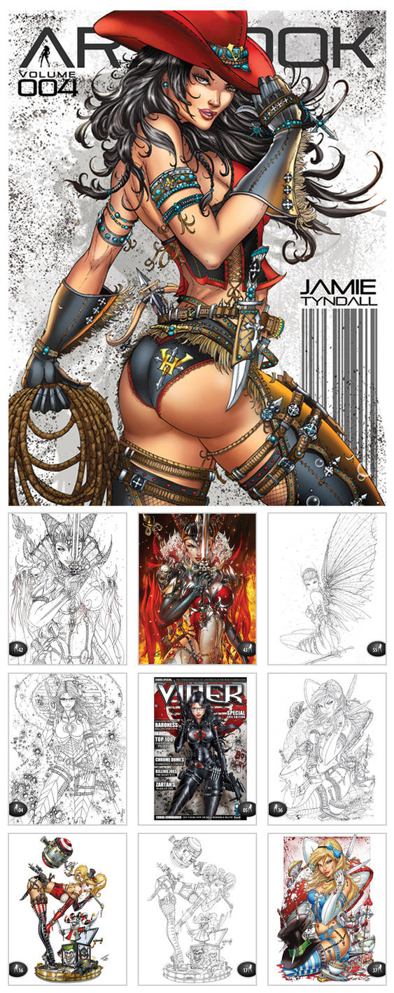 NOW AVAILABLE: Artbook vol 004 by jamietyndall