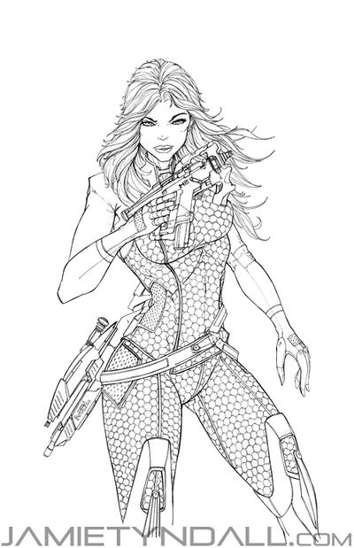 mass effect 3 coloring pages - photo#42