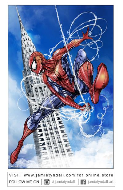 Spider-Man by jamietyndall