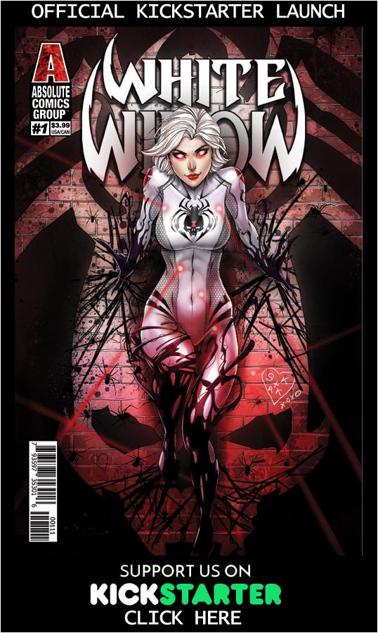 White Widow Kickstarter Issue 1 by jamietyndall