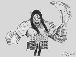 Conrad Gomorrah, the Goblin Mob Boss by OnHolyServiceBound