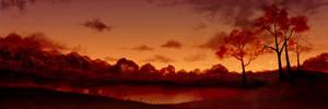 Autumn Sunset by Scottr5680