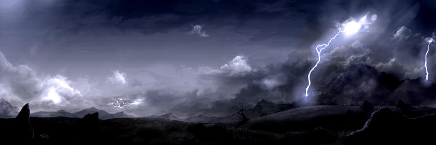 Stormy Mountains by Scottr5680