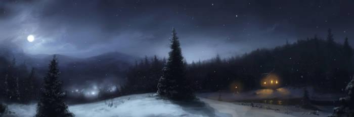 Winter Night by Scottr5680