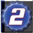 Brad Keselowski 2011 Cap by NASCAR-Caps