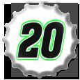 Denny Hamlin 2011 Cap NNS by NASCAR-Caps