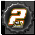 Brad Keselowski Chase by NASCAR-Caps