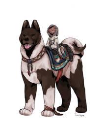 Dog rider 02