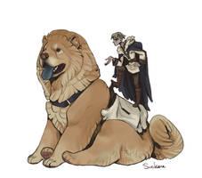 Dog rider 3