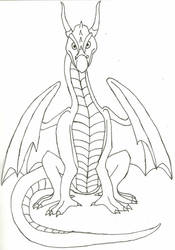 Dragon front view