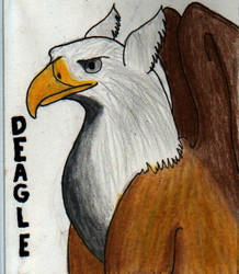Deagle badge by The-Blue-Dragon