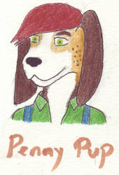 Penny Pup badge