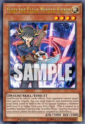 Yusei the Clear Minded Signer (Fanmade card) by HolyCrapWhiteDragon